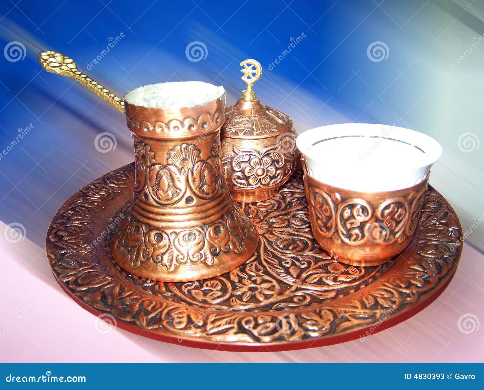 Set des türkischen Kaffees