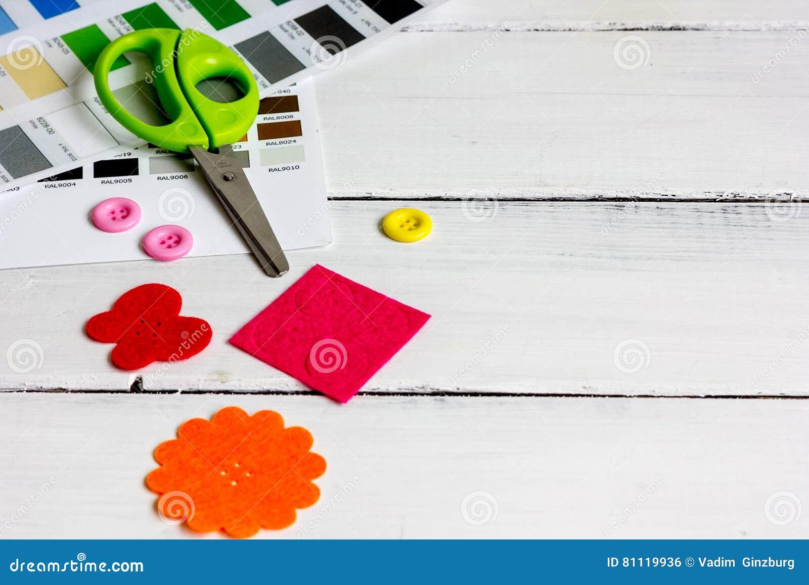 Set designer palettes on working desk close up stock photo image download comp ccuart Choice Image