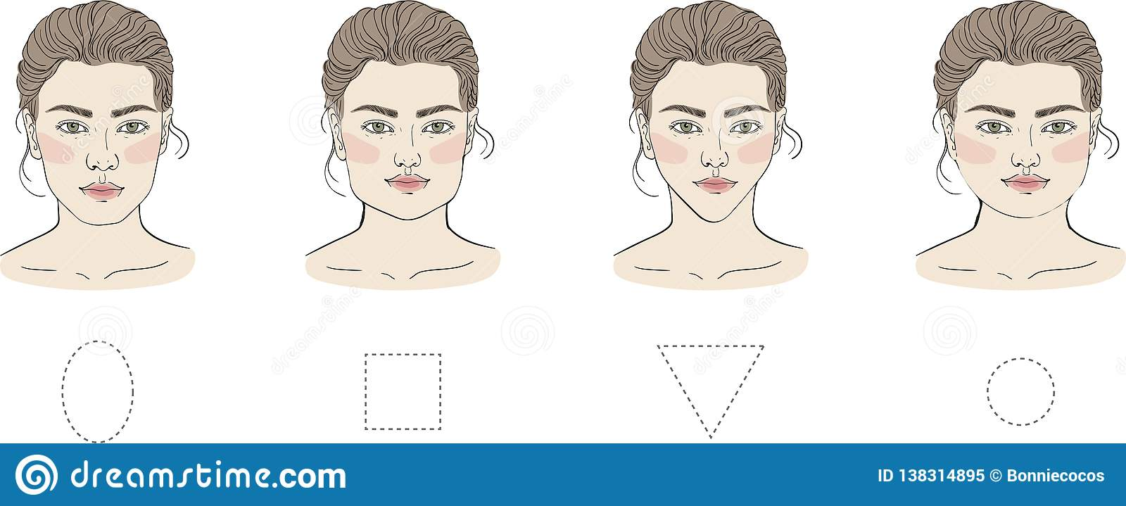 84d36723039 Round Long Square Face Stock Illustrations – 45 Round Long Square Face Stock  Illustrations
