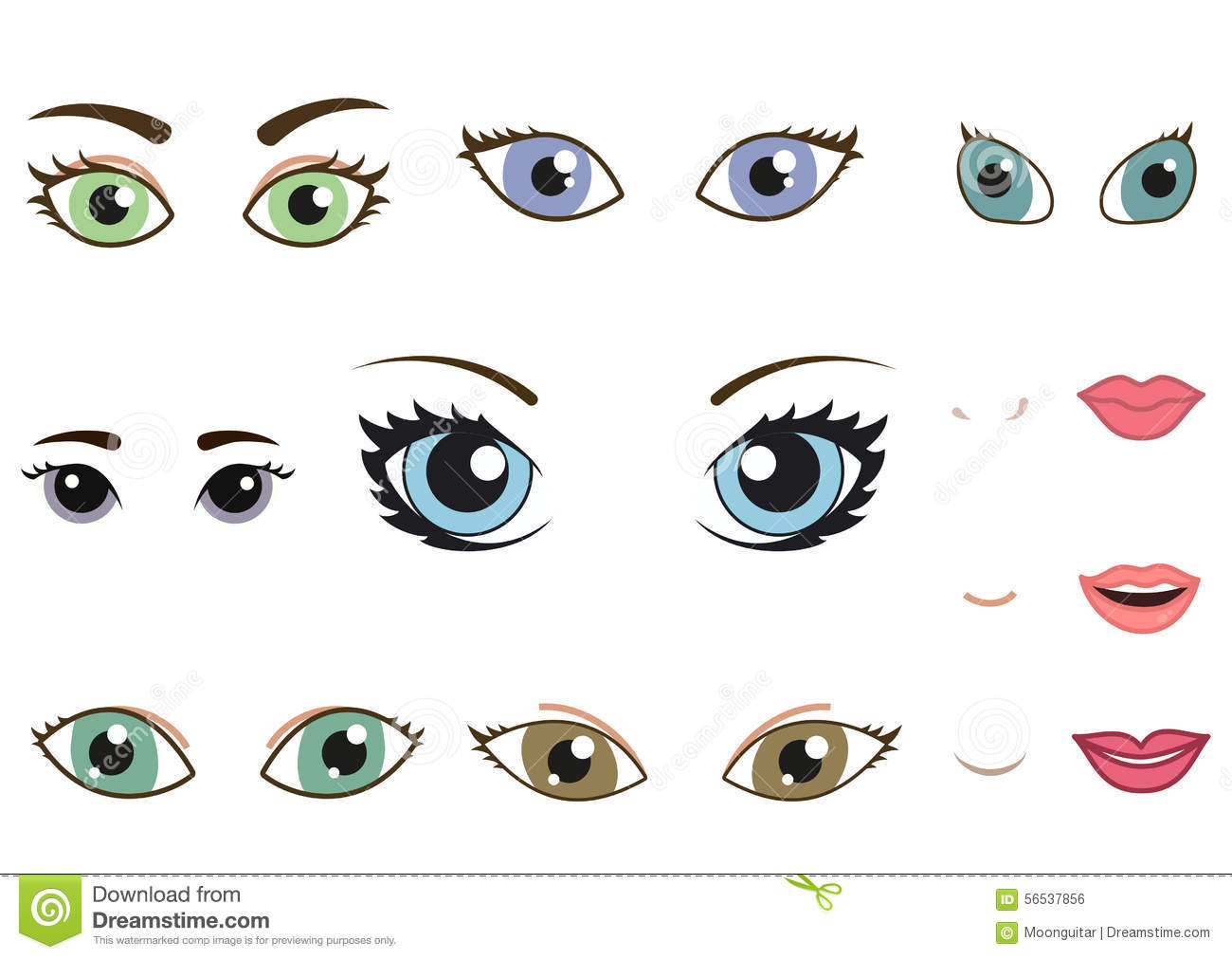 Single Gold Star Cartoon Sticking Out Tongue Emoji also 1084879 Types Of Woman Eyes  Eye Shapes also Smiling Cartoon Faces moreover Exclusive Preview French Manga Series Last Man Deb additionally Production Line Clipart. on cartoon eyebrows
