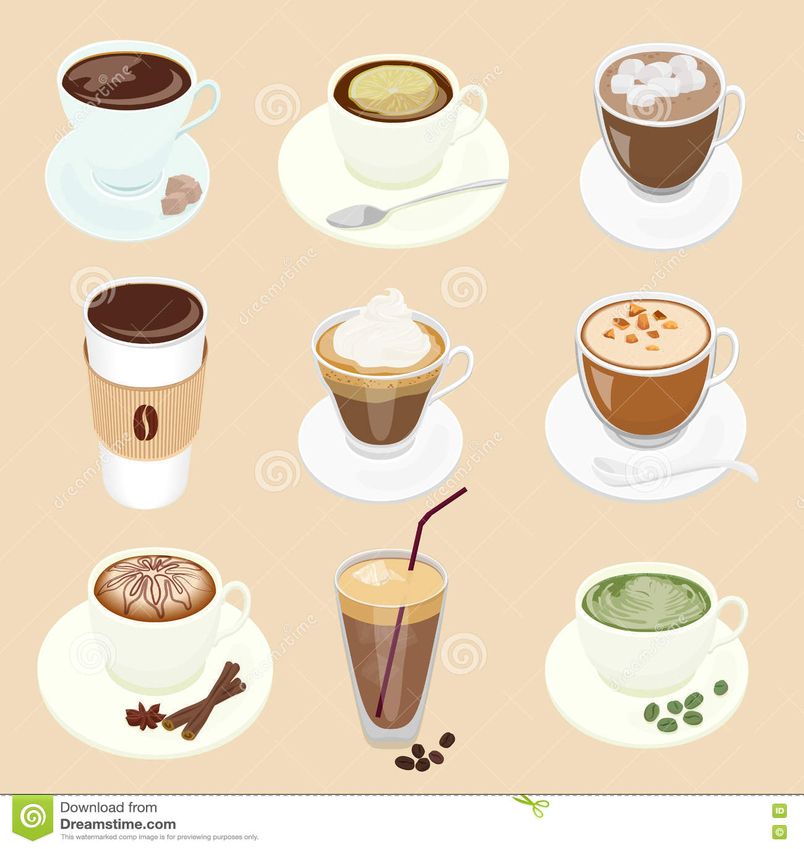 Cafe Latte Restaurant Menu
