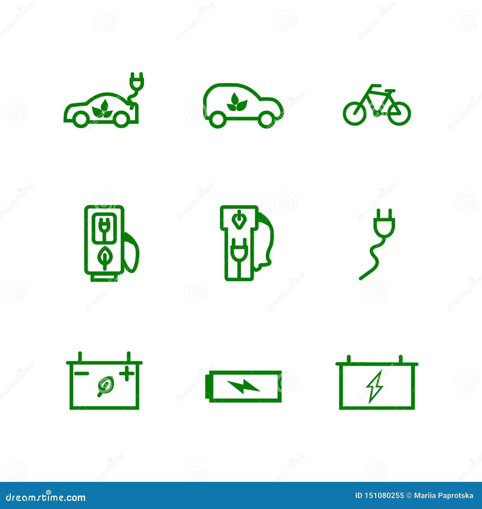 Set disabilityRelated wektor linii ikony Zawiera taki ikony których niepełnosprawny, szczudła, przesłuchanie pomoc, stora, sporty