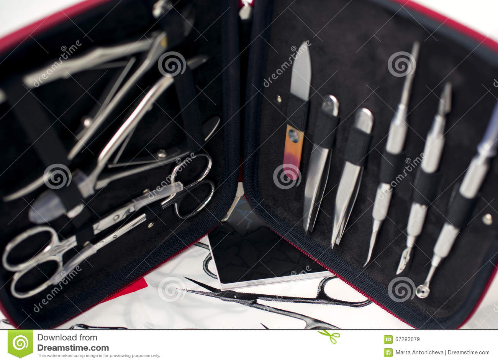 Set dla manicure u i pedicure u