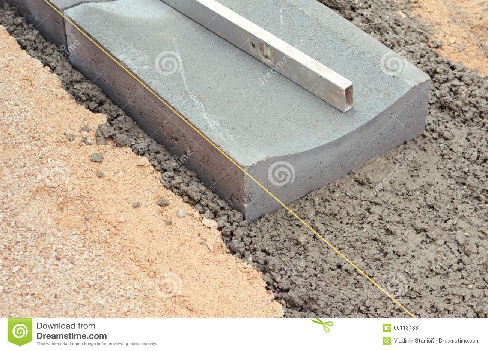 set of drain tile stock photo