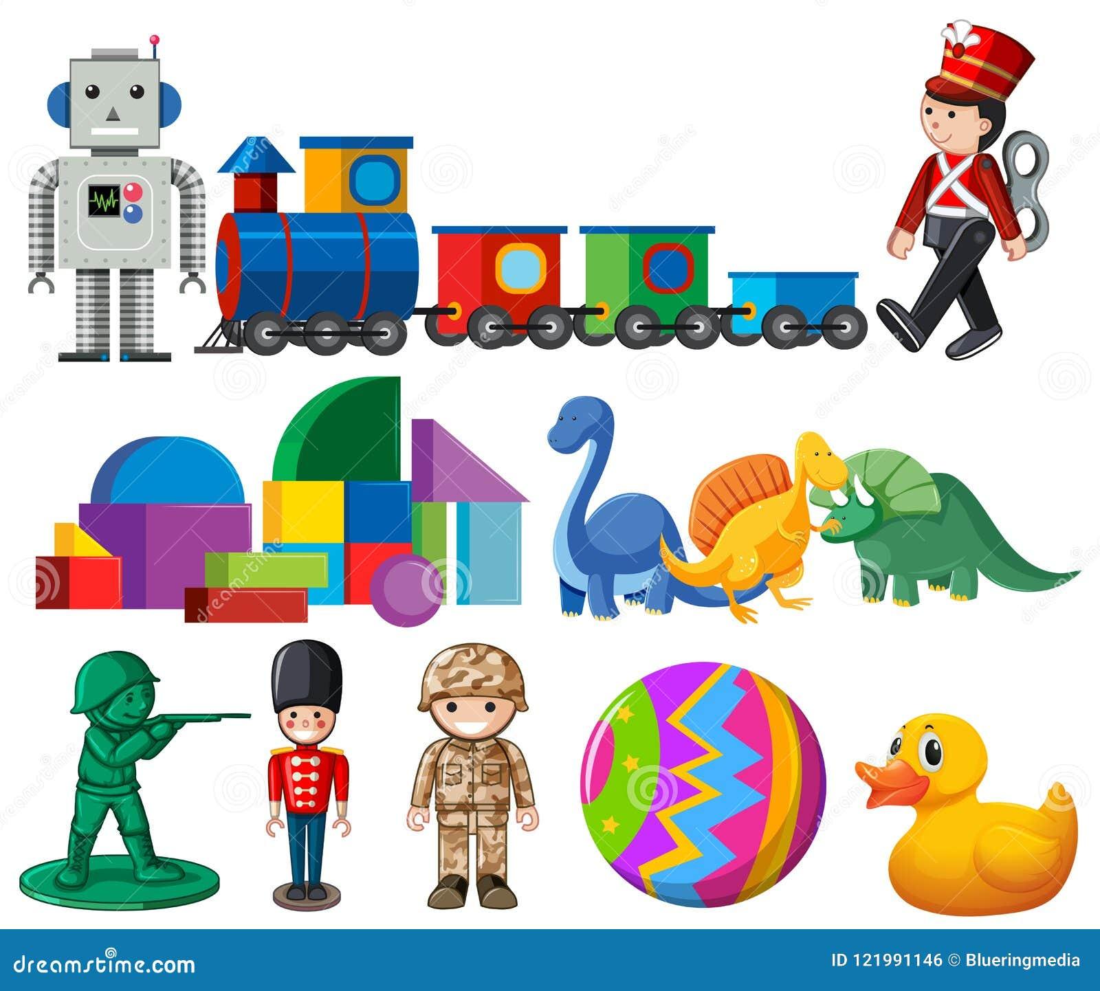 Set dziecko zabawki