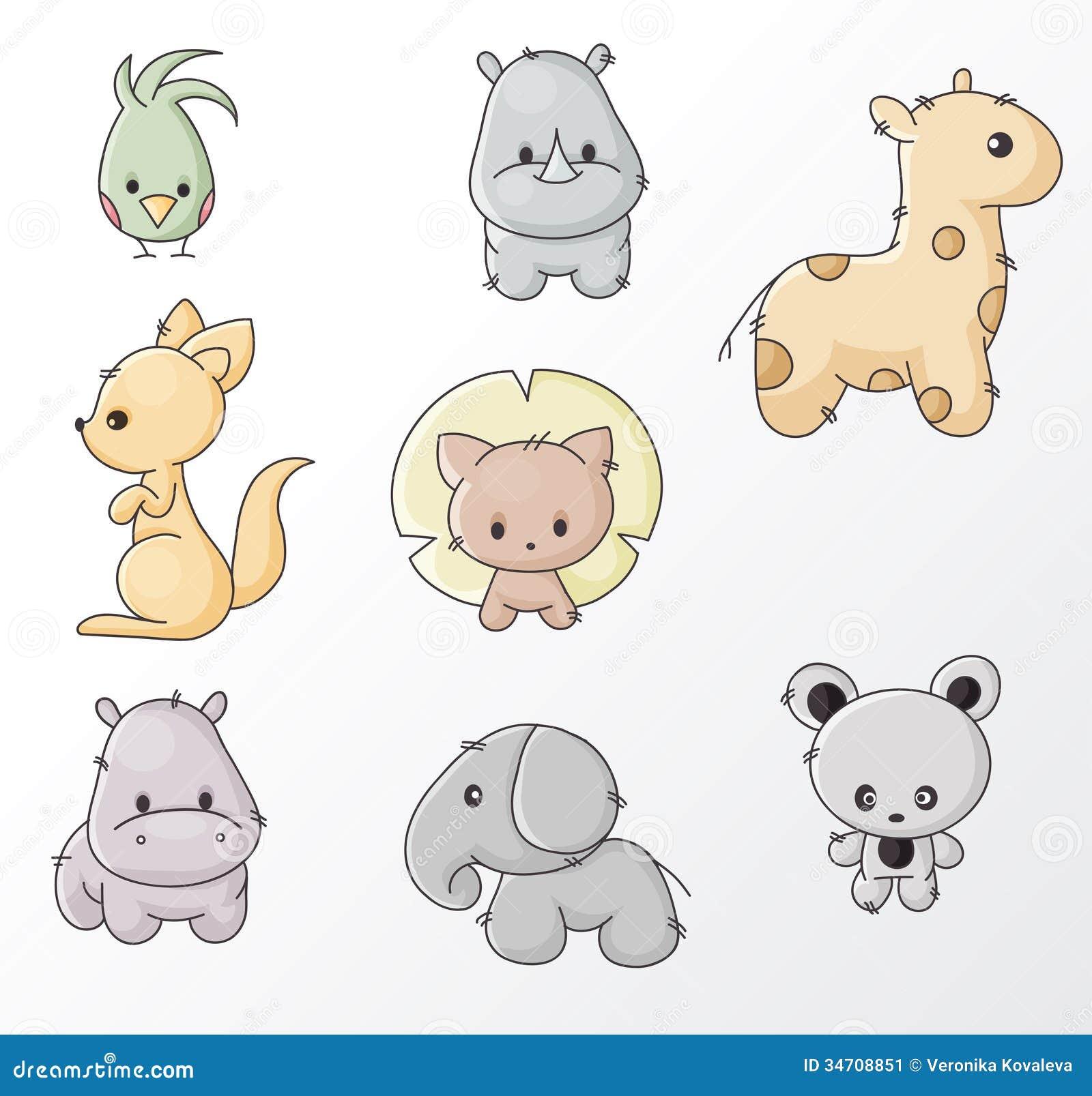 Set dzikie zwierzęta