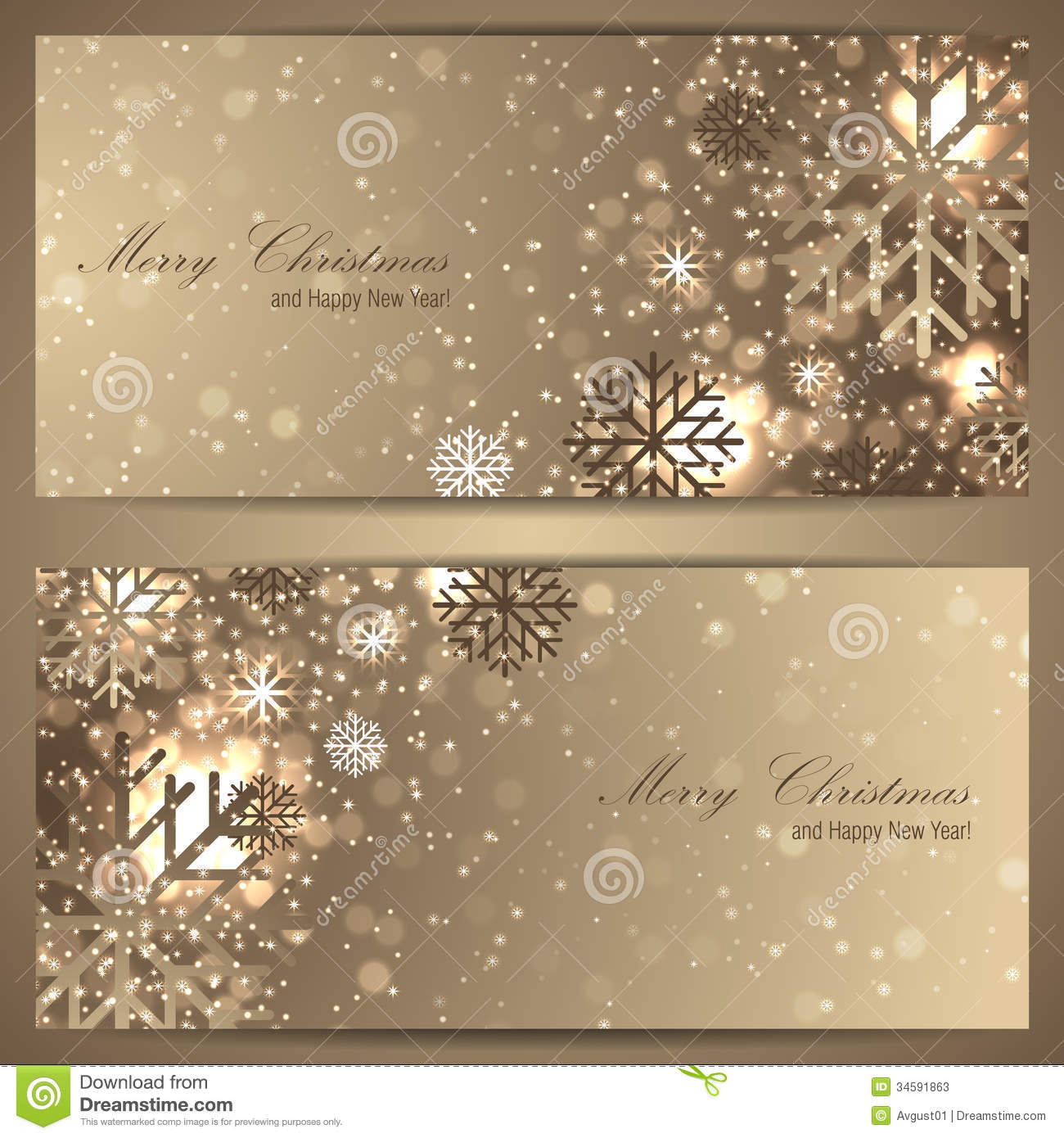 Classy Christmas Banners Free Ebook Banners