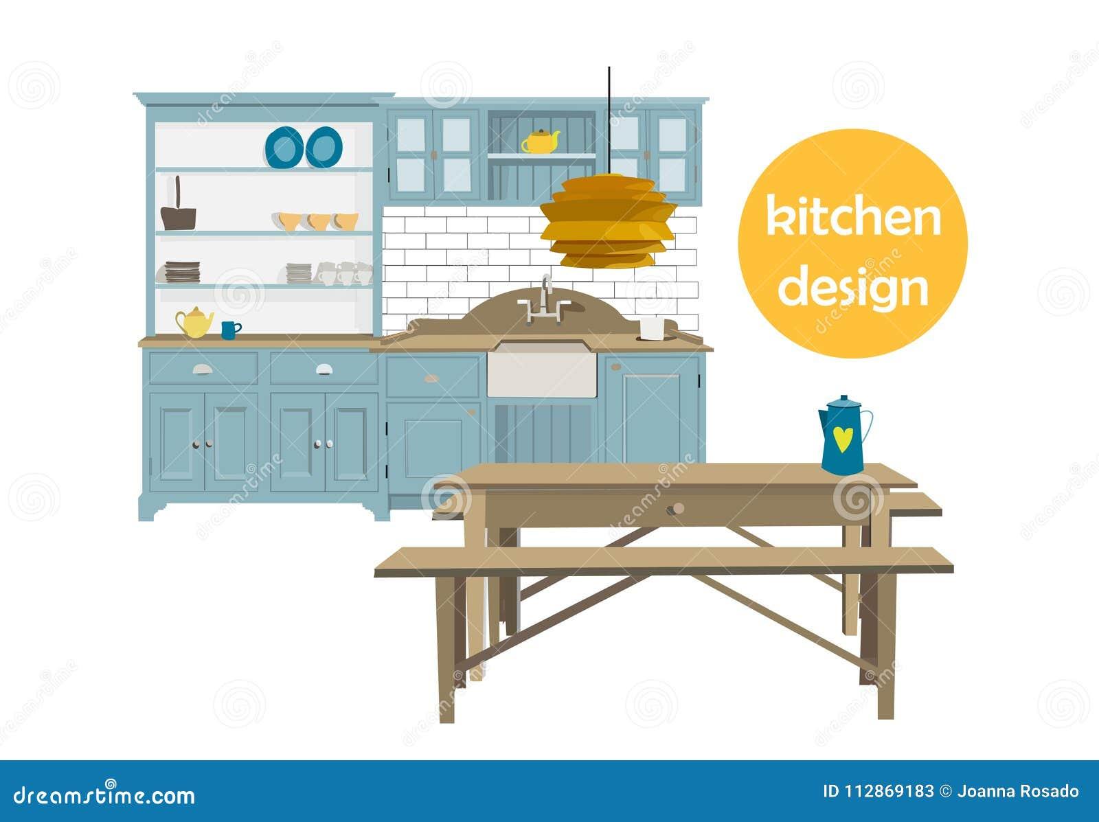 Home Decor Vector Elements Set Collection House Interior Design