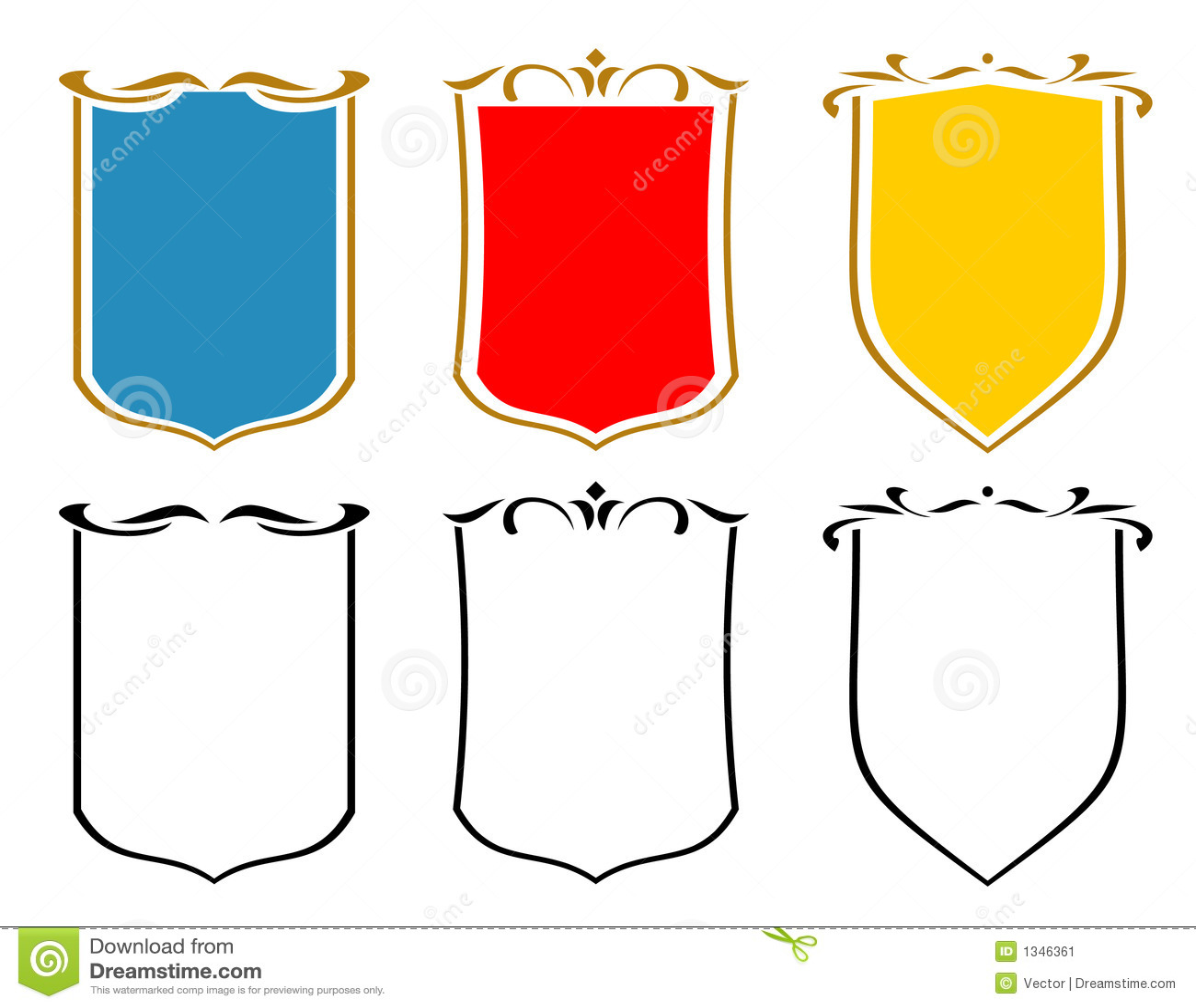 Cool Shields Emblems