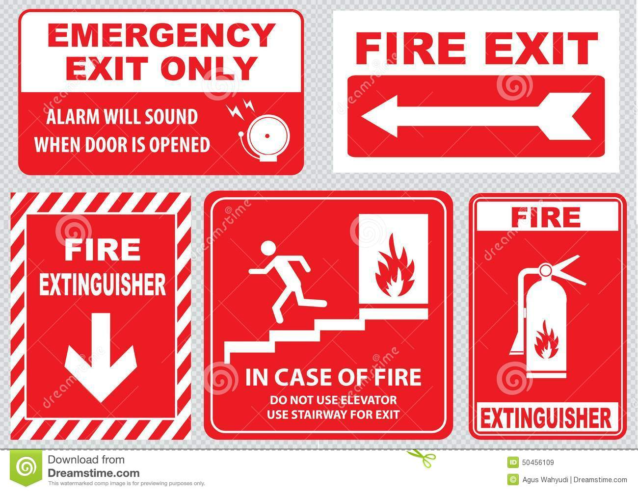 Set of emergency exit sign fire exit emergency exit fire set of emergency exit sign fire exit emergency exit fire assembly point appointment communication biocorpaavc Gallery