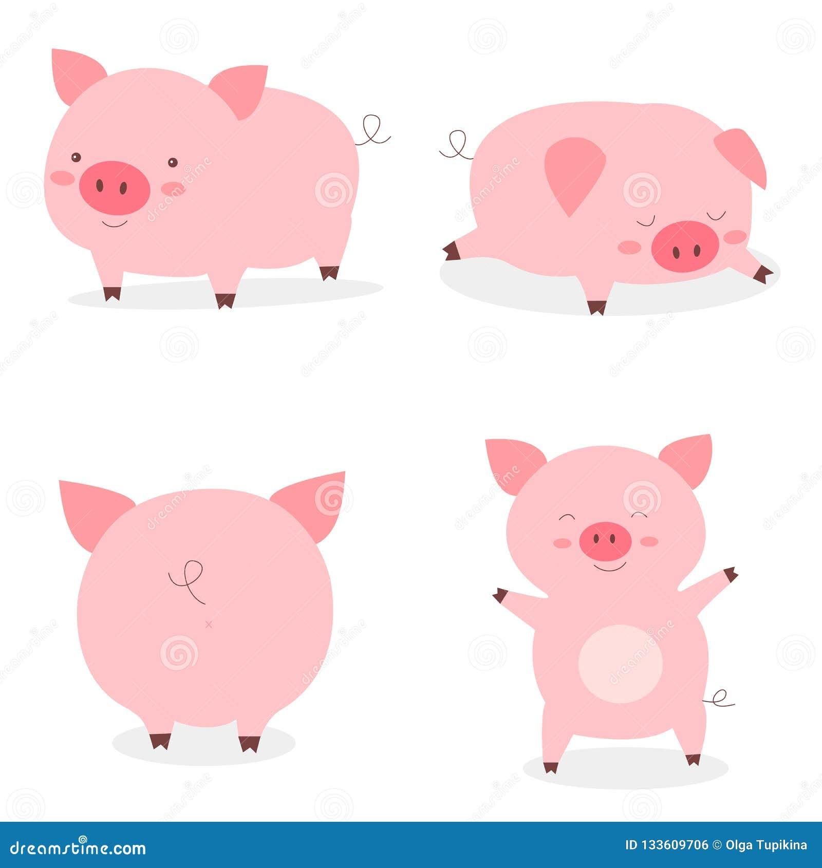 ad144efa4923a Fat Pigs Stock Illustrations – 470 Fat Pigs Stock Illustrations ...