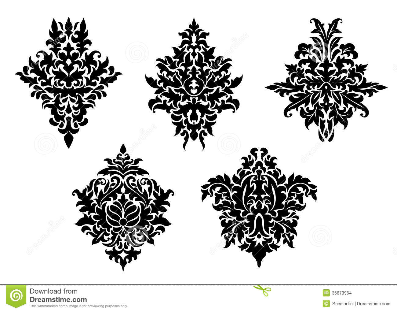 Acanthus Leaf Patterns