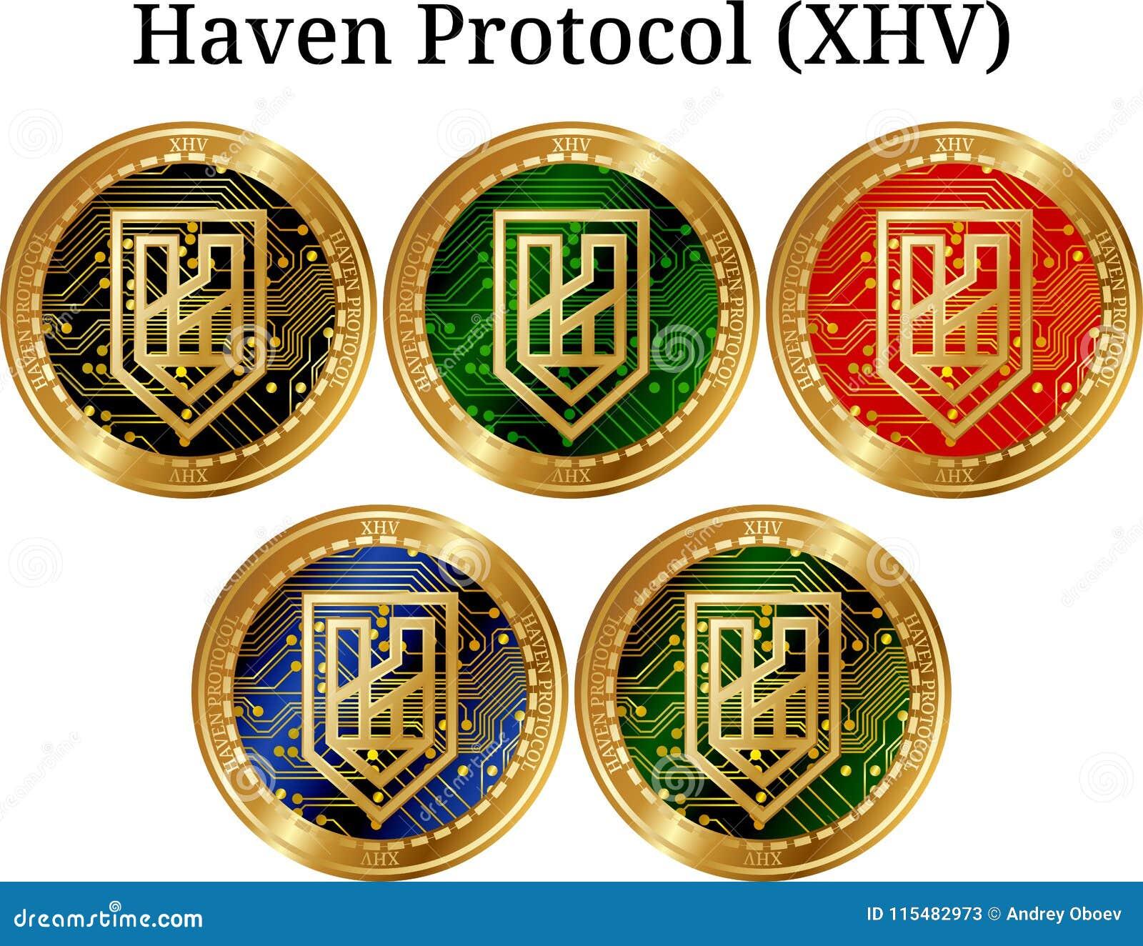Set fizyczny złoty menniczy przystań protokół XHV