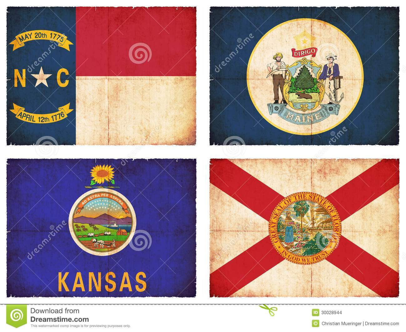 set-flags-north-america-north-carolina-maine-kansas-florida-30028944.jpg