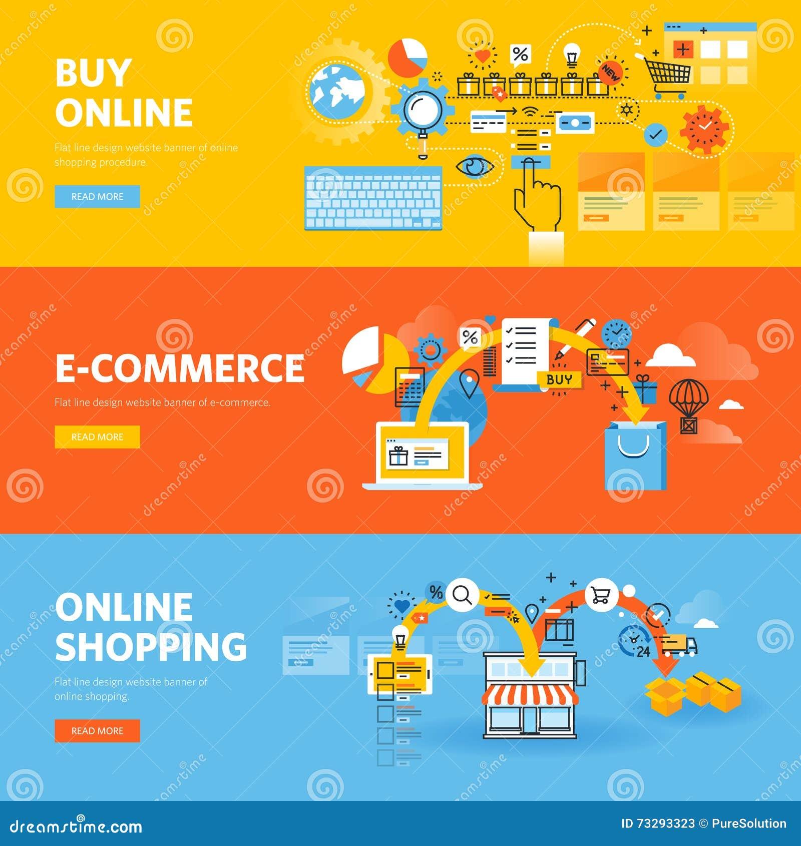 Banner design for e commerce - Commerce Design