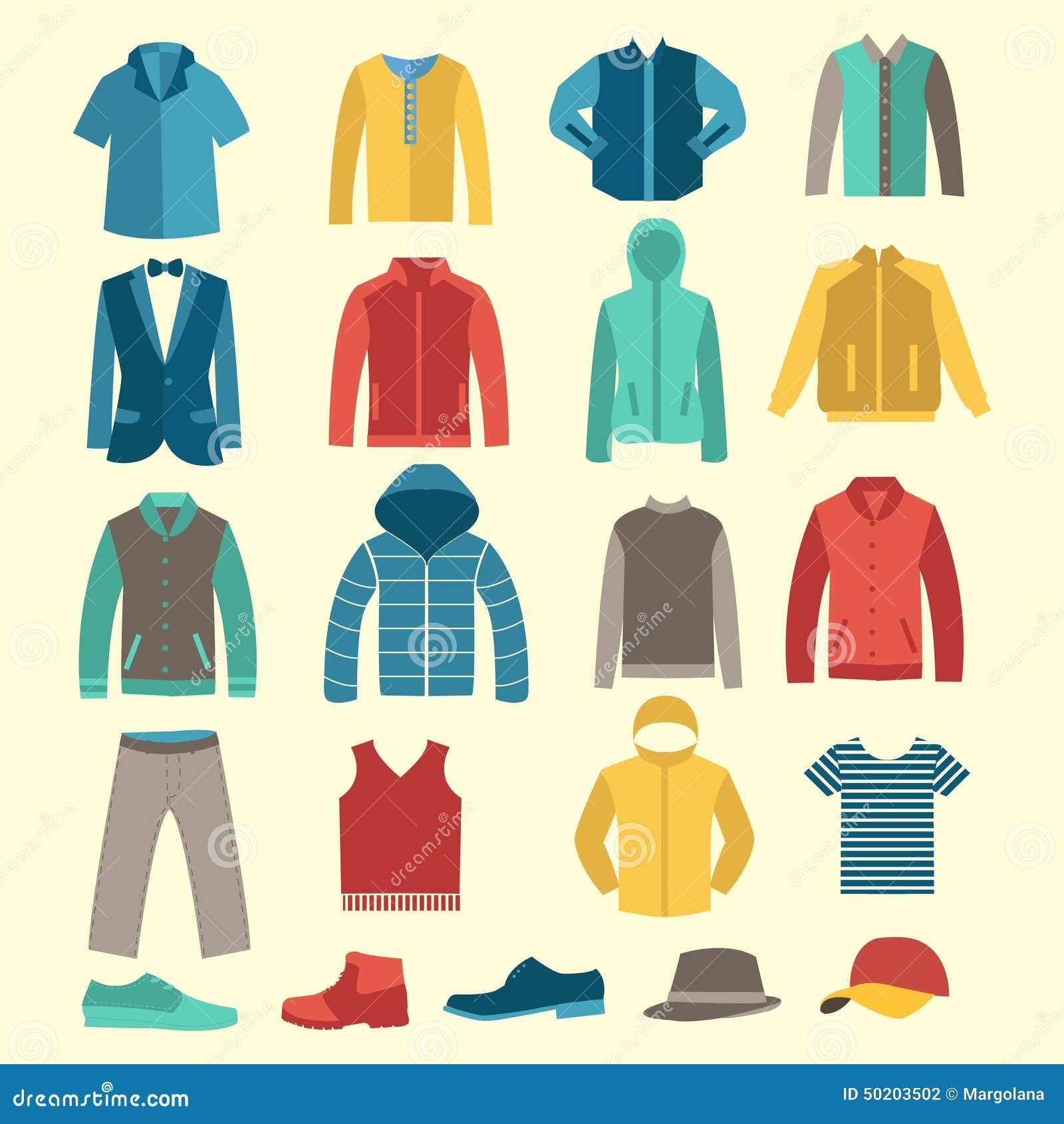 Names Of All Mens Clothes