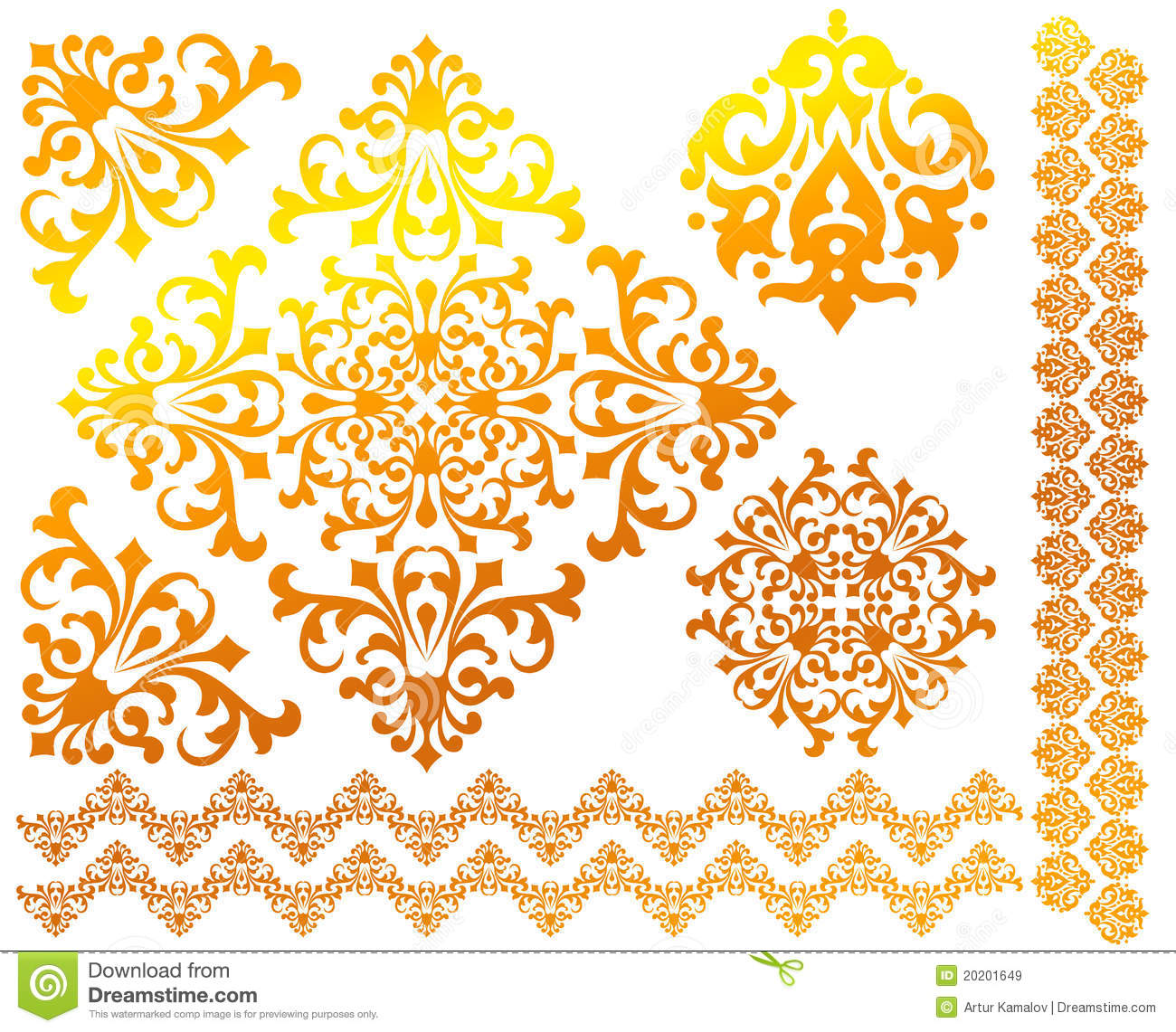 set of floral vector patterns royalty free stock images image 20201649 set of floral vector patterns royalty free stock images image 20201649