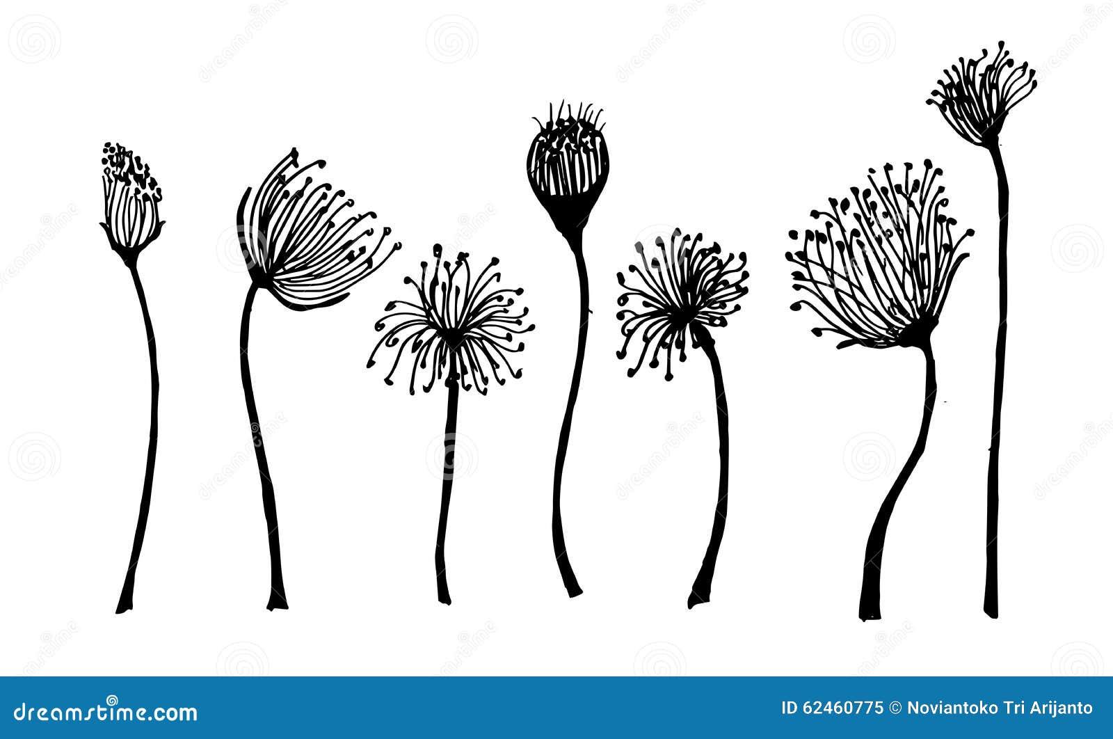Plant Doodles Simple