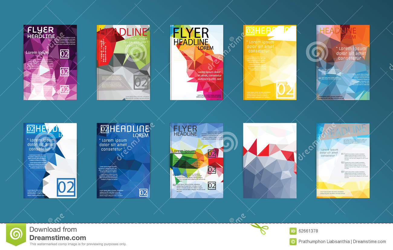 set of flyer brochure design templates flyers posters and plac set of flyer brochure design templates flyers posters and plac royalty stock photos