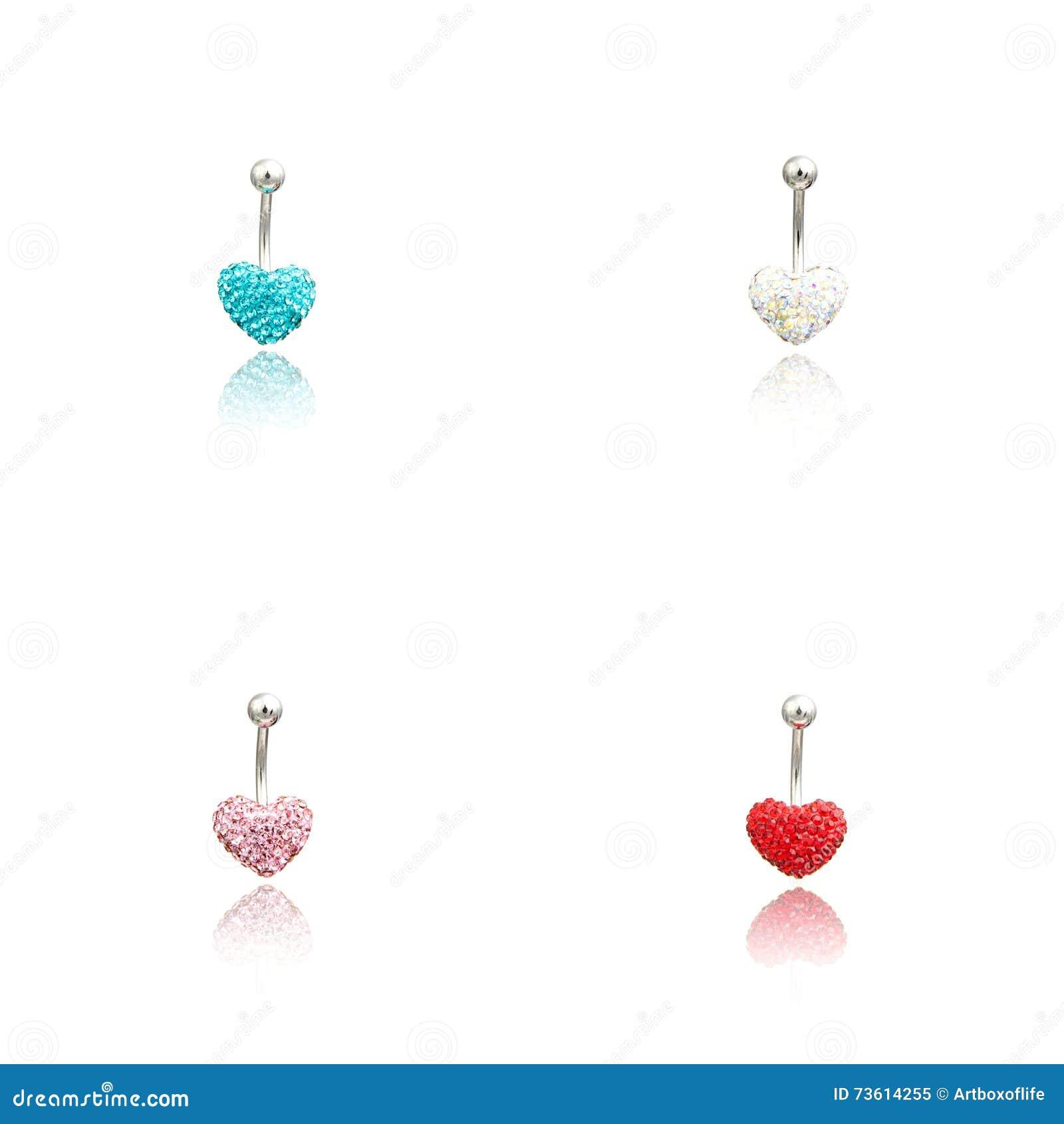 Set of four fashion Piercing