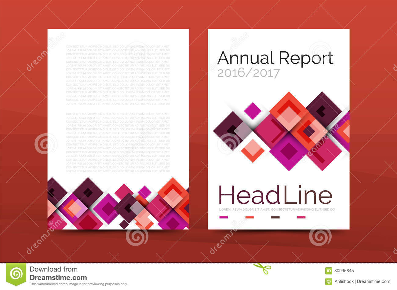 Set of front and back a4 size pages business annual report design download set of front and back a4 size pages business annual report design templates stock flashek