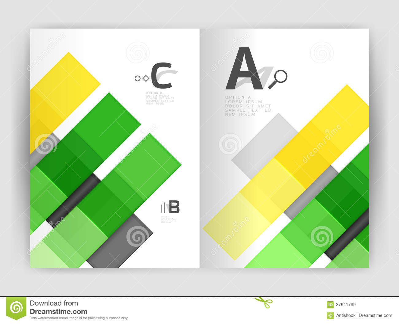 Set of front and back a4 size pages business annual report design download set of front and back a4 size pages business annual report design templates stock cheaphphosting Image collections