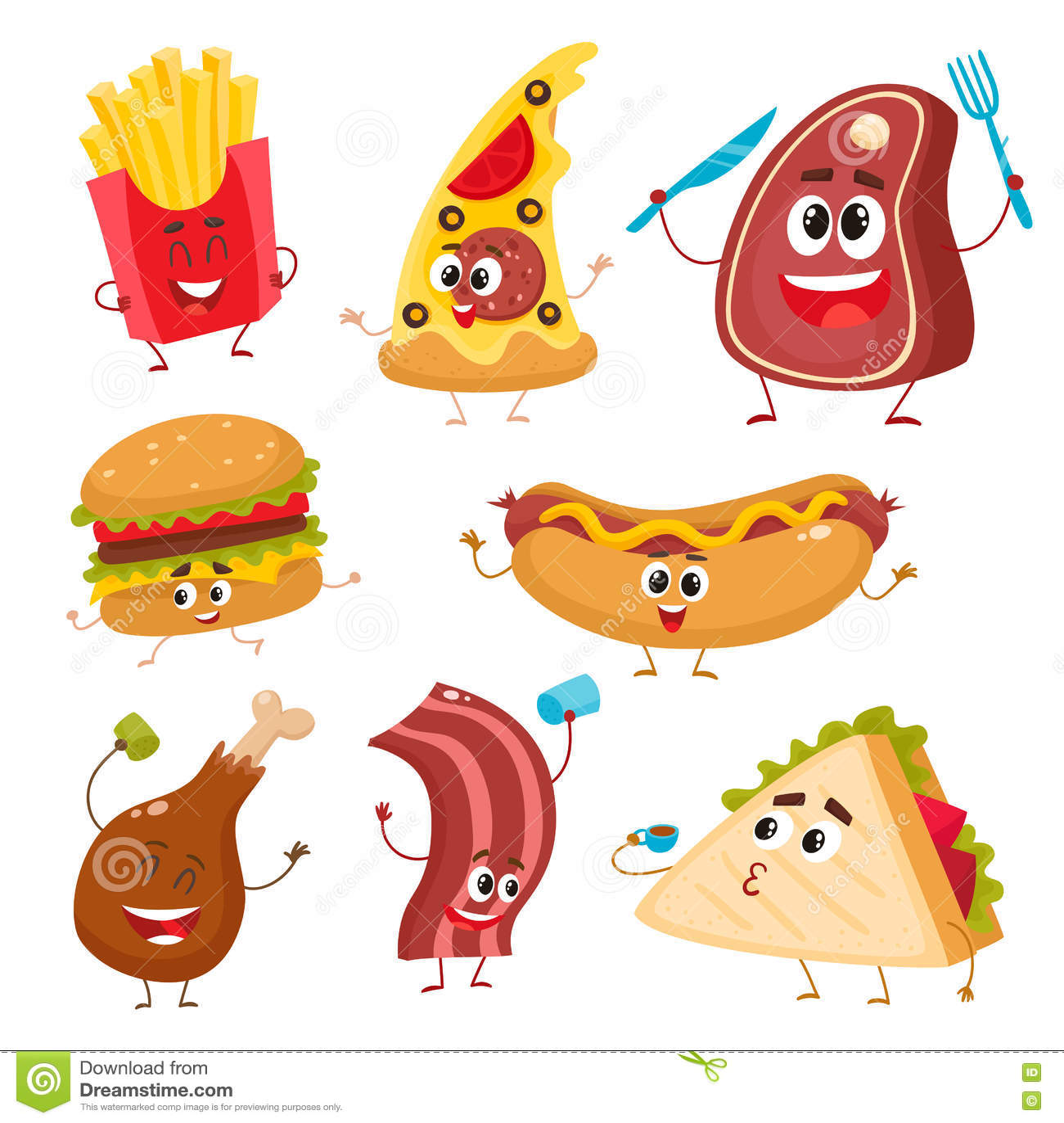 Cute cartoon chicken food - photo#8