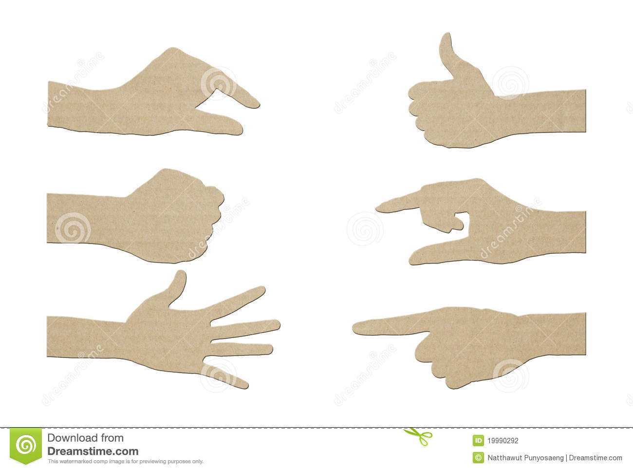 Body language and hand gestures