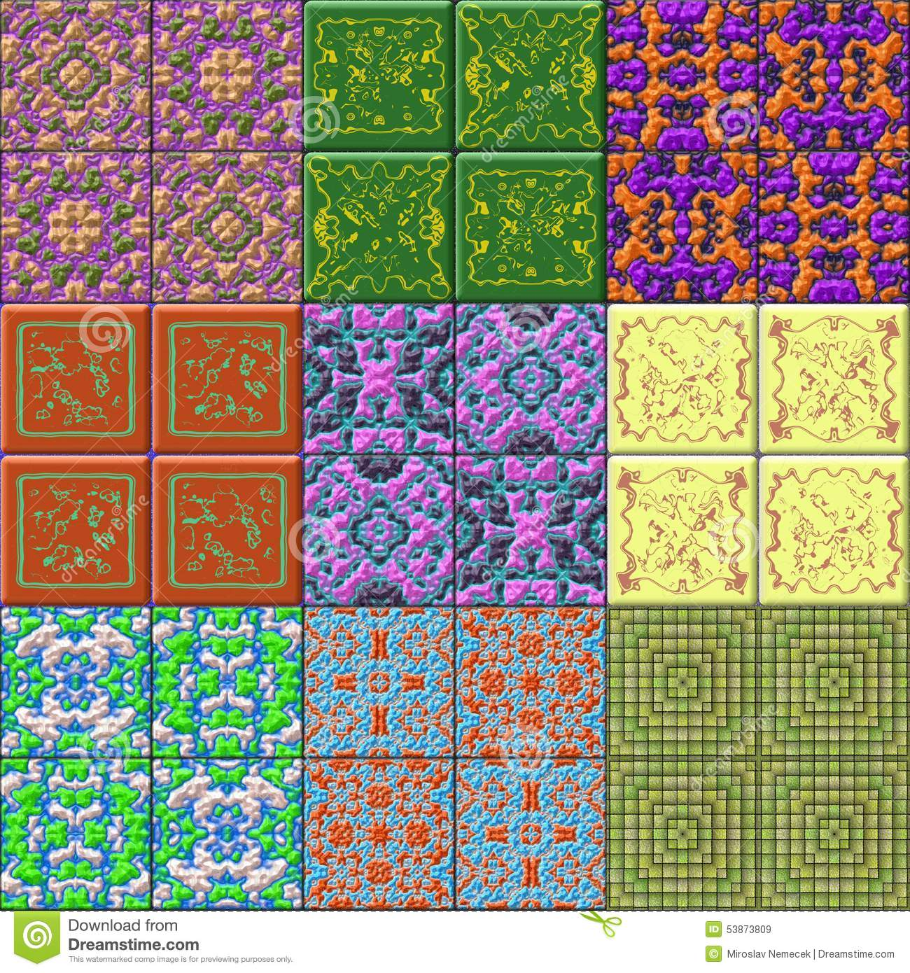 generated seamless tile background - photo #3