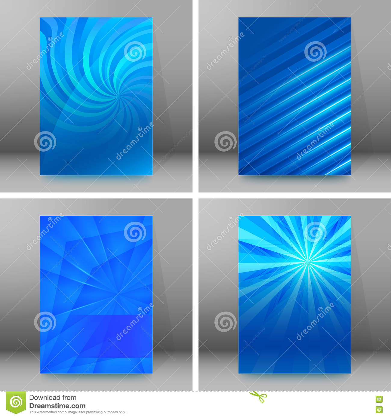 set of glow theme brochure cover page a format stock vector set of glow theme brochure cover page a4 format06