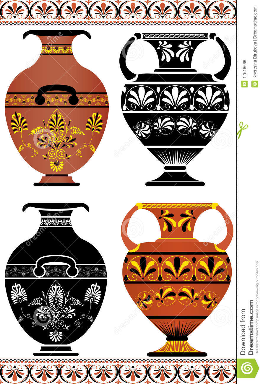 Vase Illustration Vector