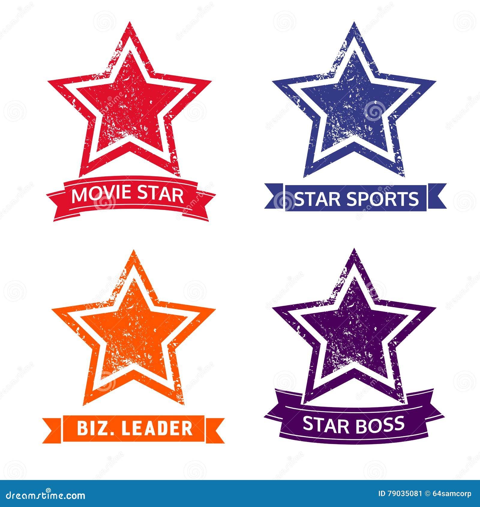 Set gwiazdowe ikony