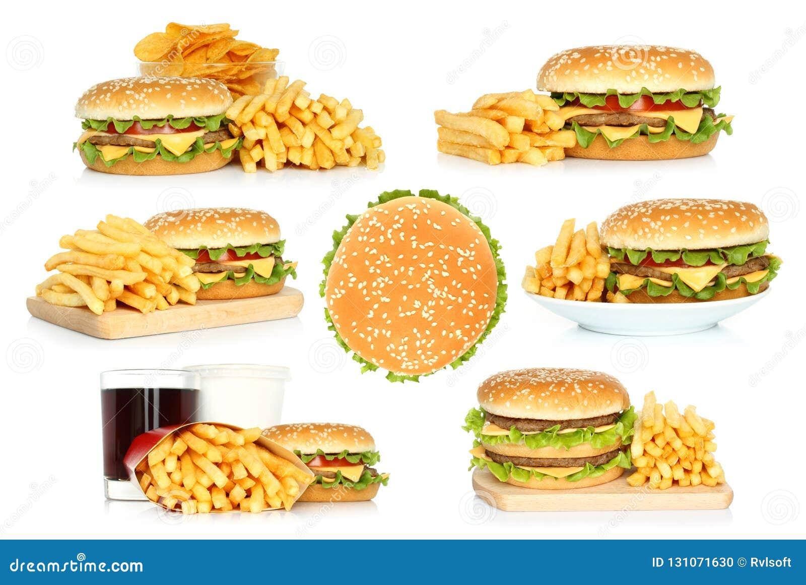 Set hamburgery, francuz smaży i szczerbi się z kolą