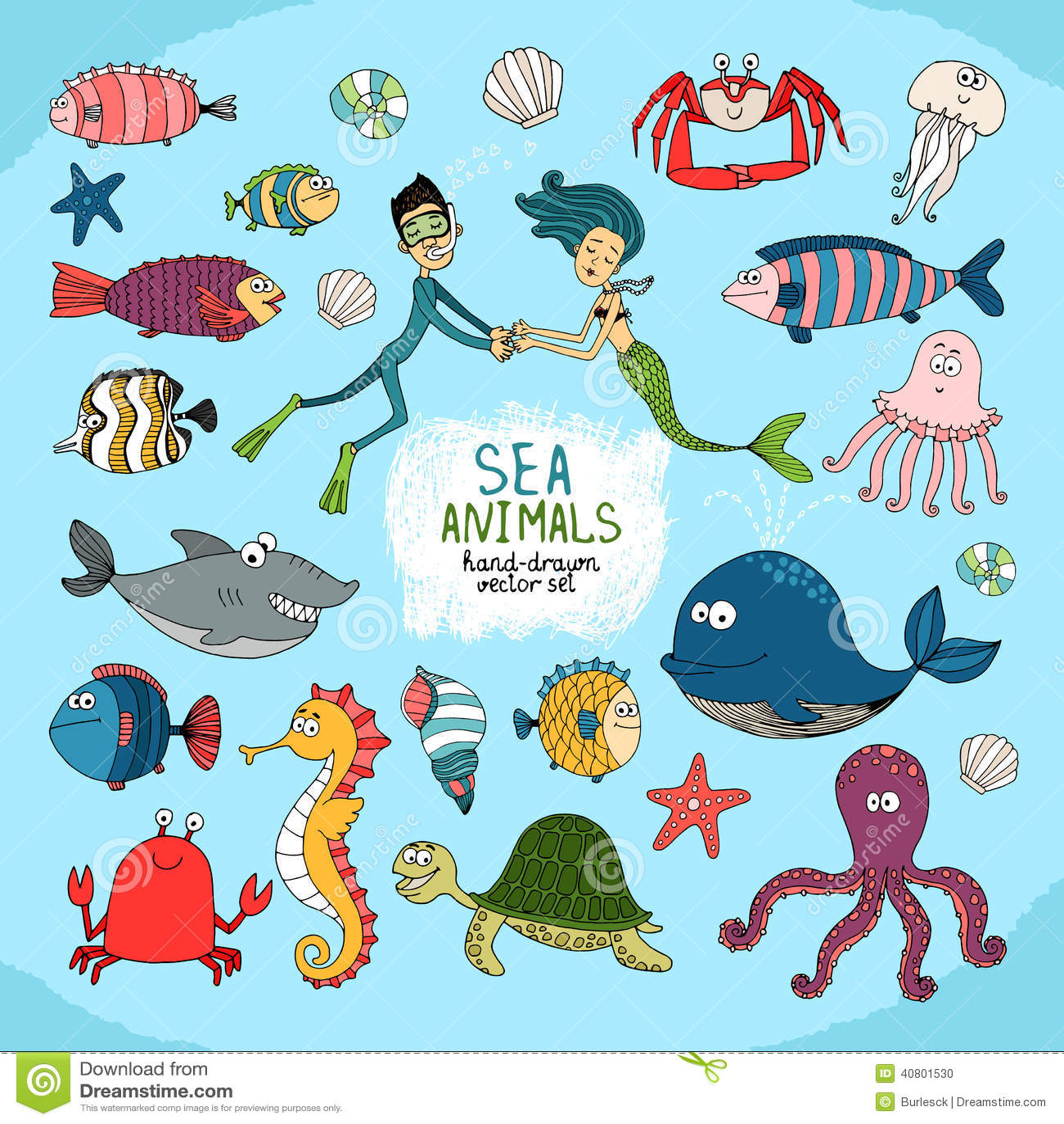 jellyfish cartoon set royalty free stock images image 25755759