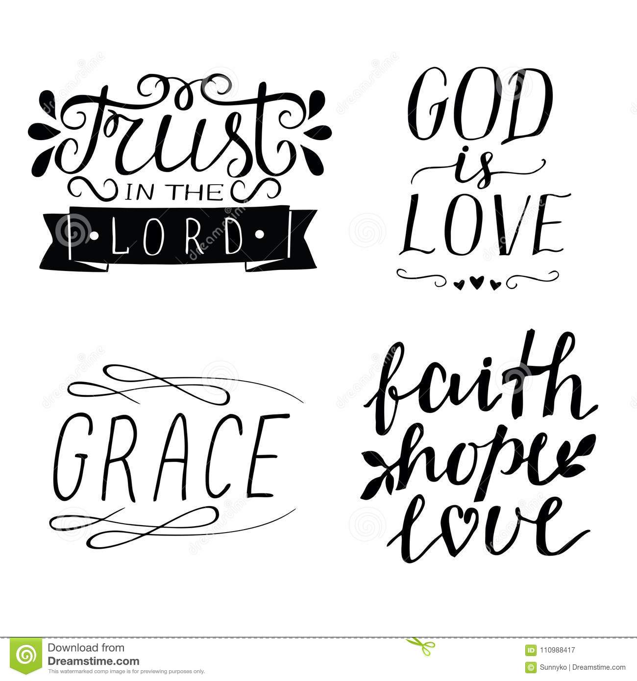 Scriptures about faith love and hope
