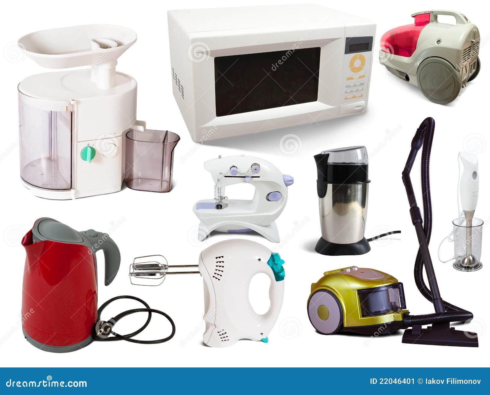 Set Haushaltsgeräte