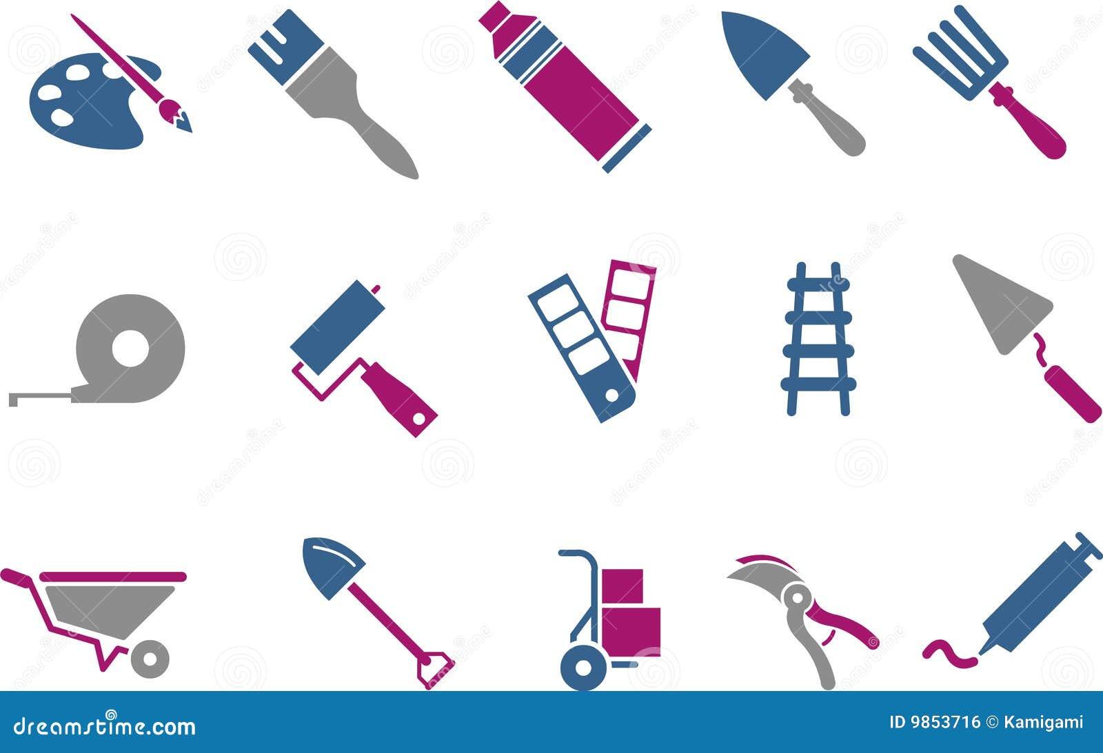 Set hjälpmedel för symbol