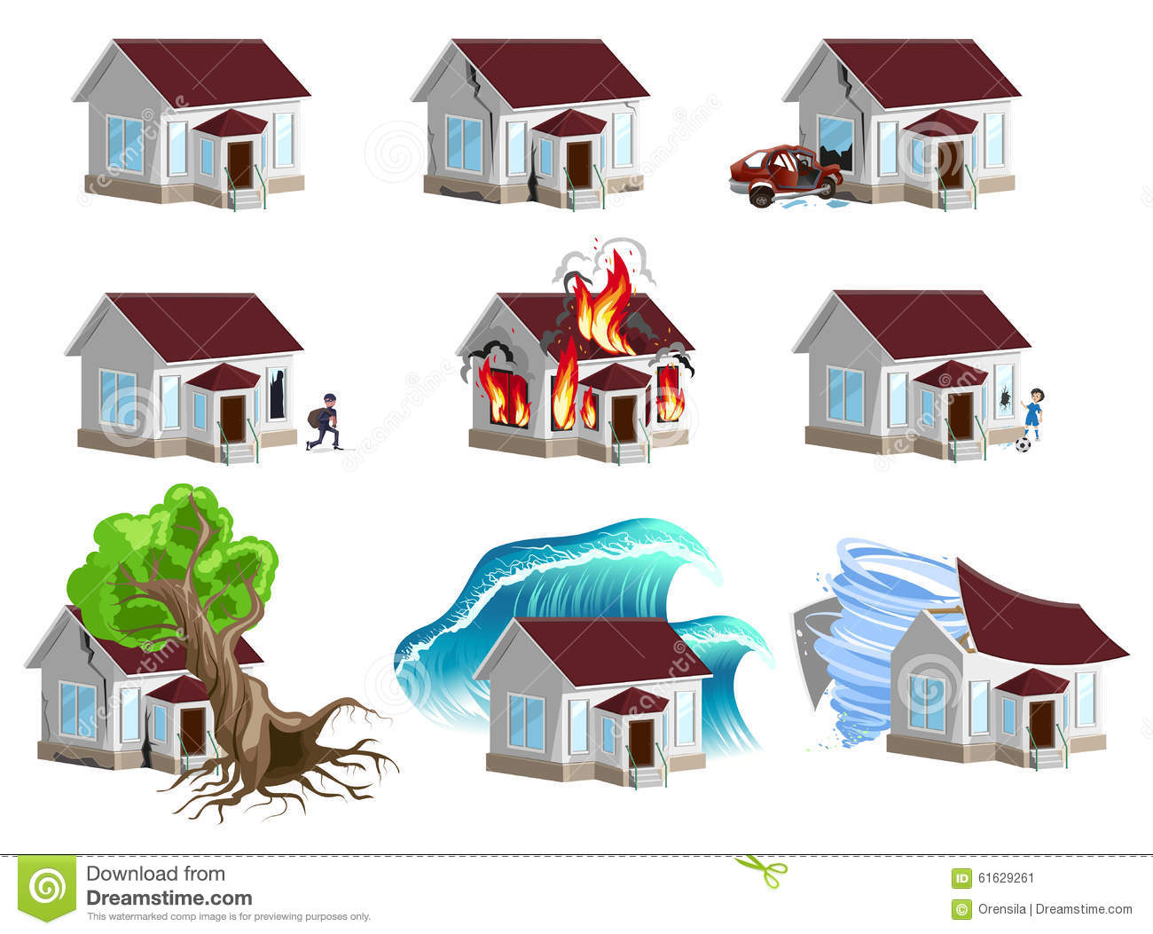 Set homes disaster home insurance property insurance - Home insurance in hawaii ...