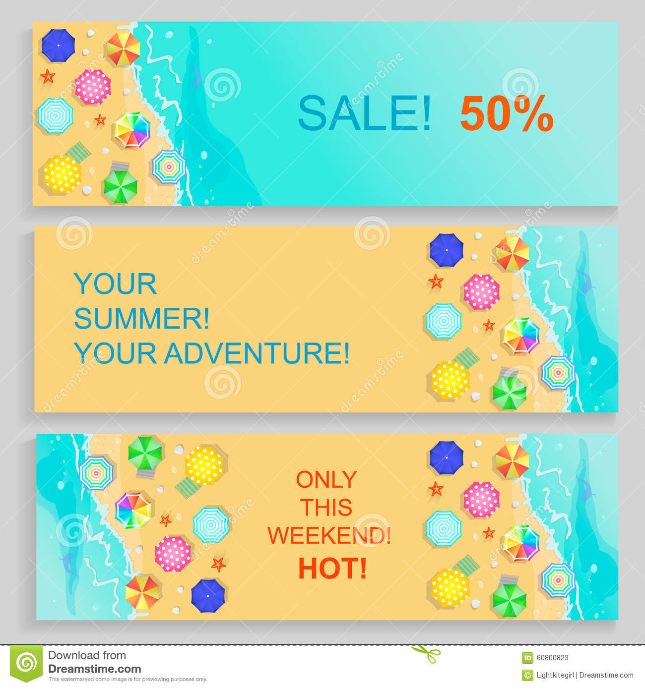 Travel And Tourism Horizontal Banners Cartoon Vector ...