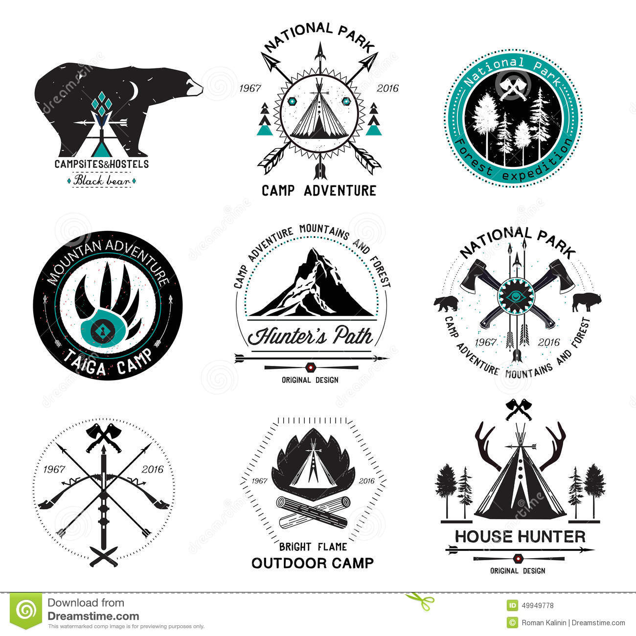 Wood Badge Embroidery Designs