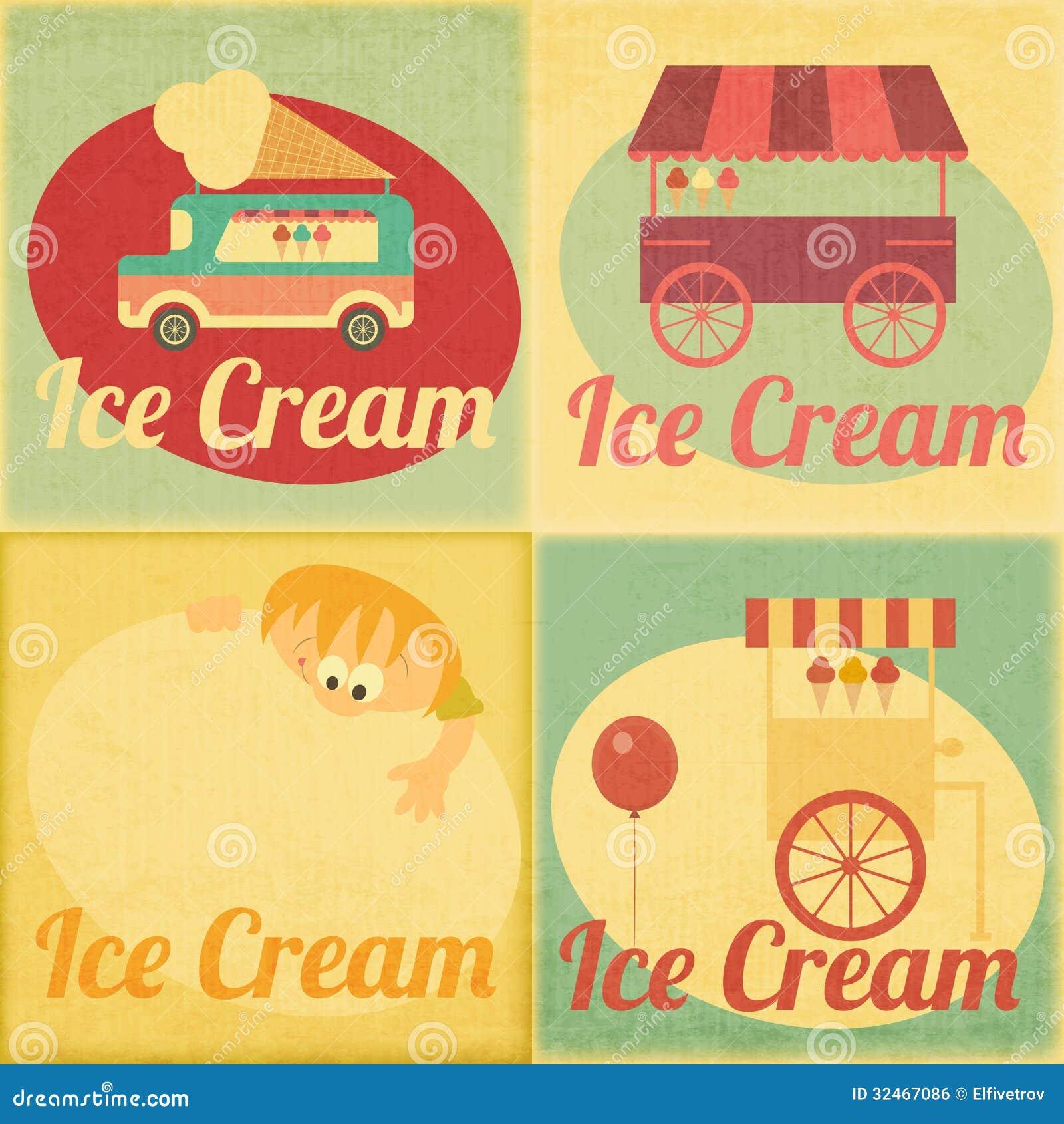vintage ice cream wallpaper - photo #35
