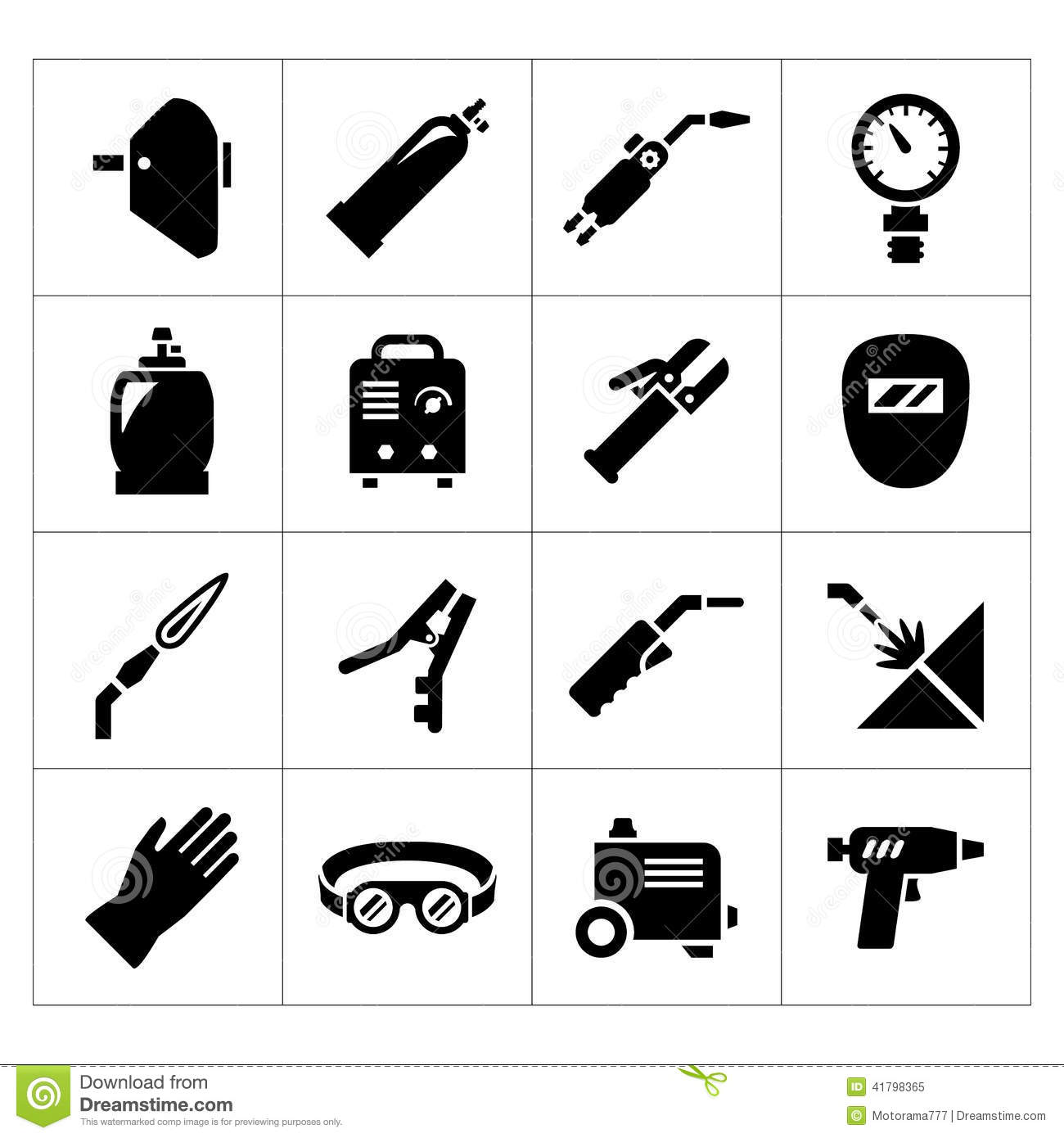 Set icons of welding stock vector. Illustration of ... | 1300 x 1390 jpeg 108kB