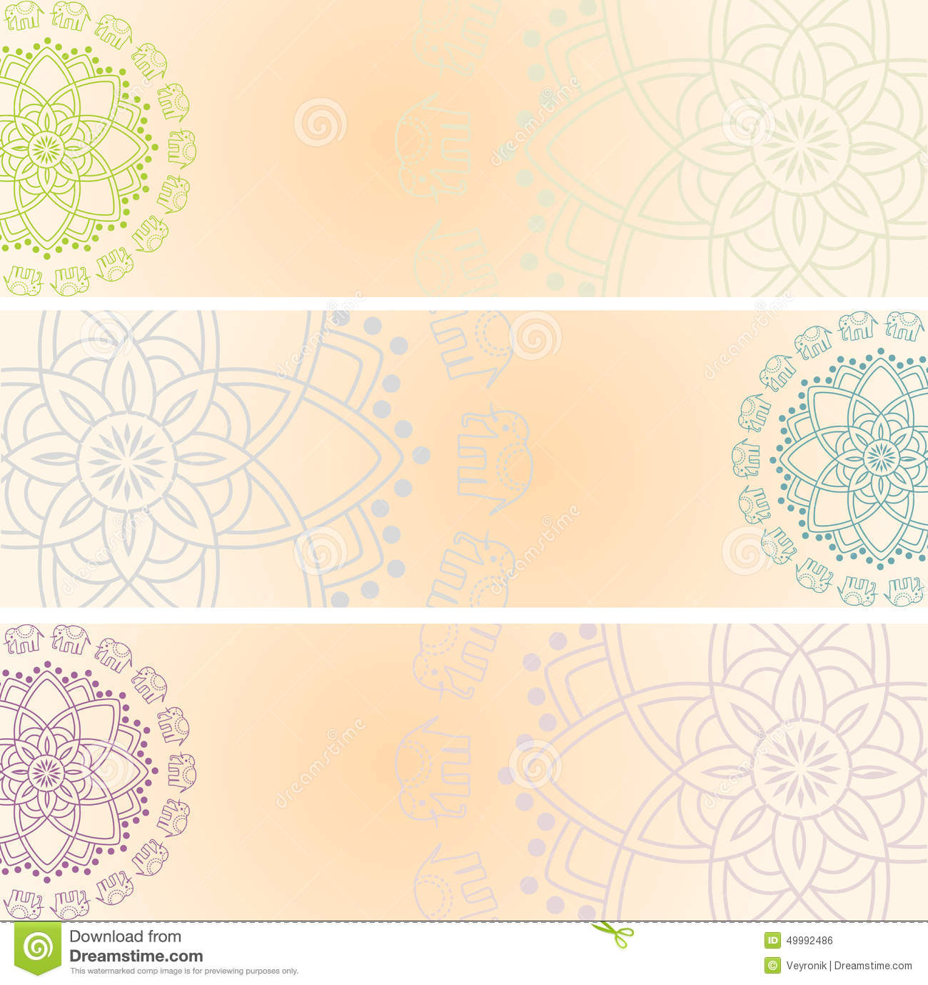 Henna Design Vector Free Download