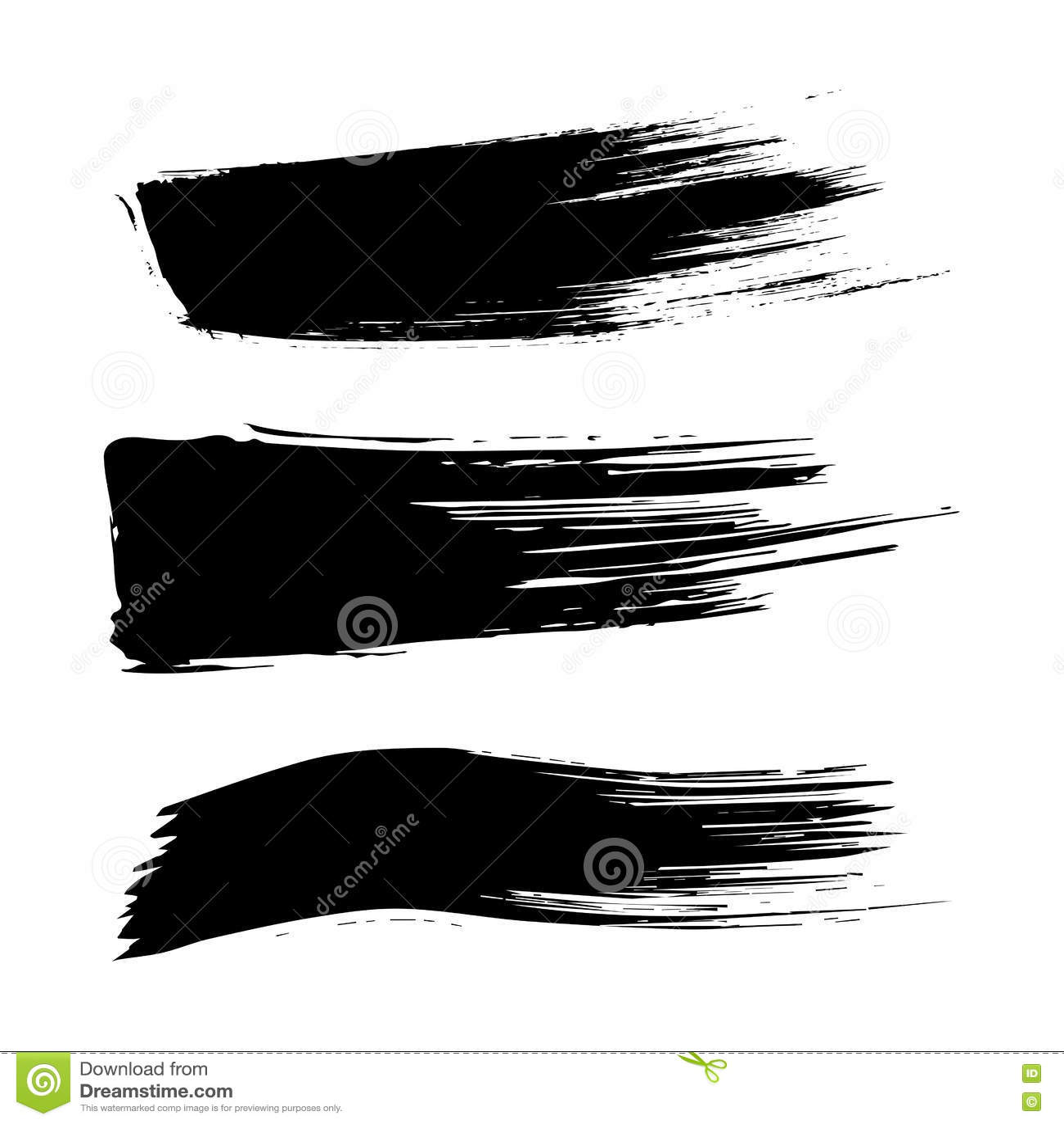 Black Paint Stroke Png Tumblr