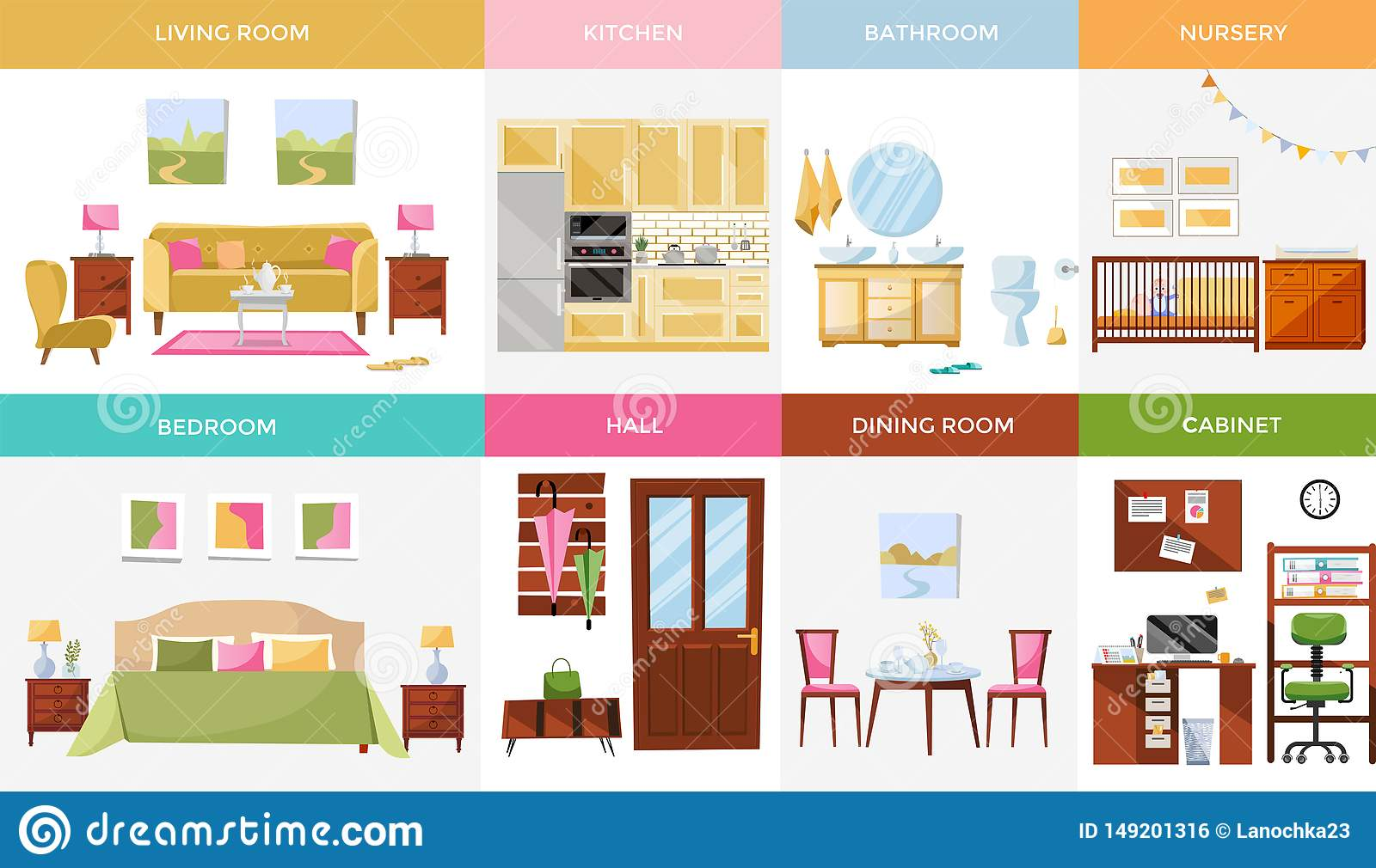 Hall Cartoons, Illustrations & Vector Stock Images - 85749 ...