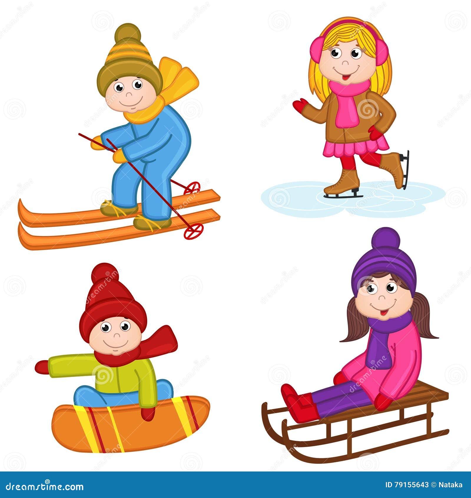 Winter Sports Clip Art