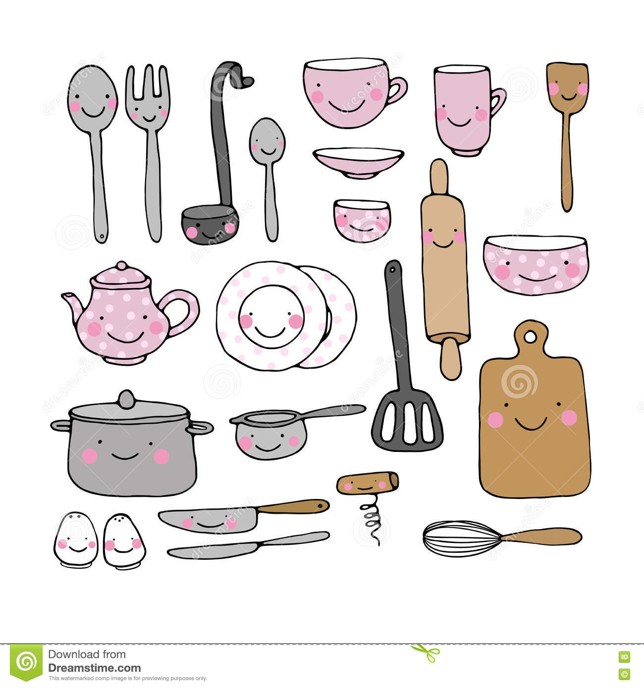 Whisk cartoons illustrations vector stock images 1188 for Kitchen set drawing