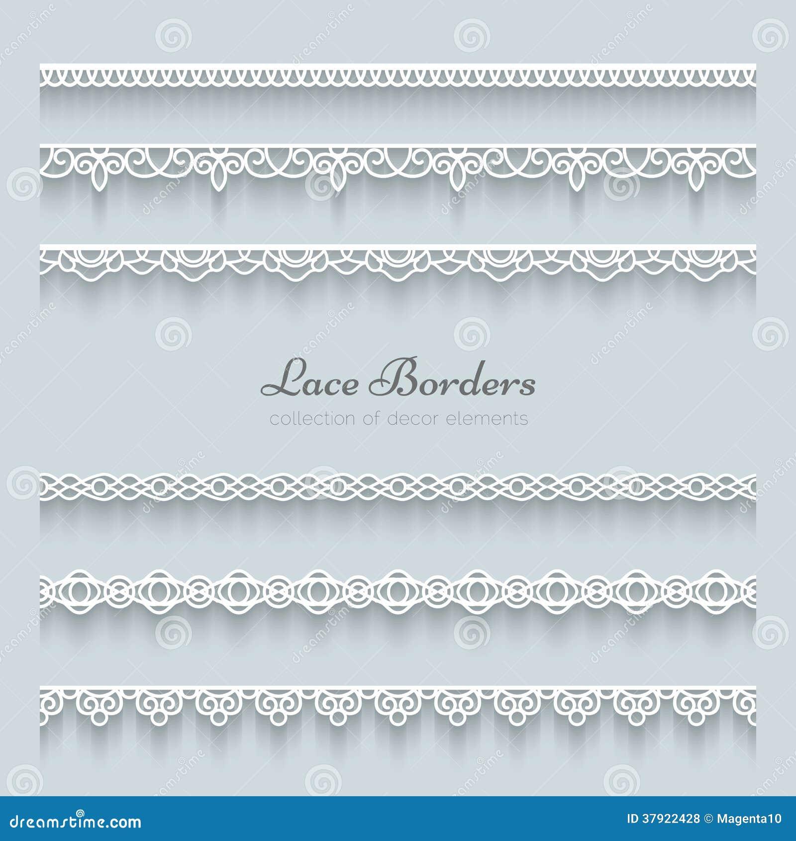 Set koronkowe granicy
