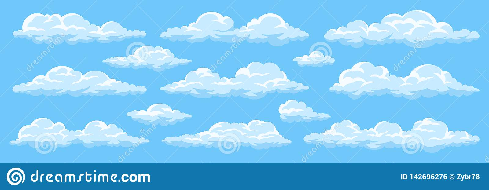 Set kresk?wek chmury