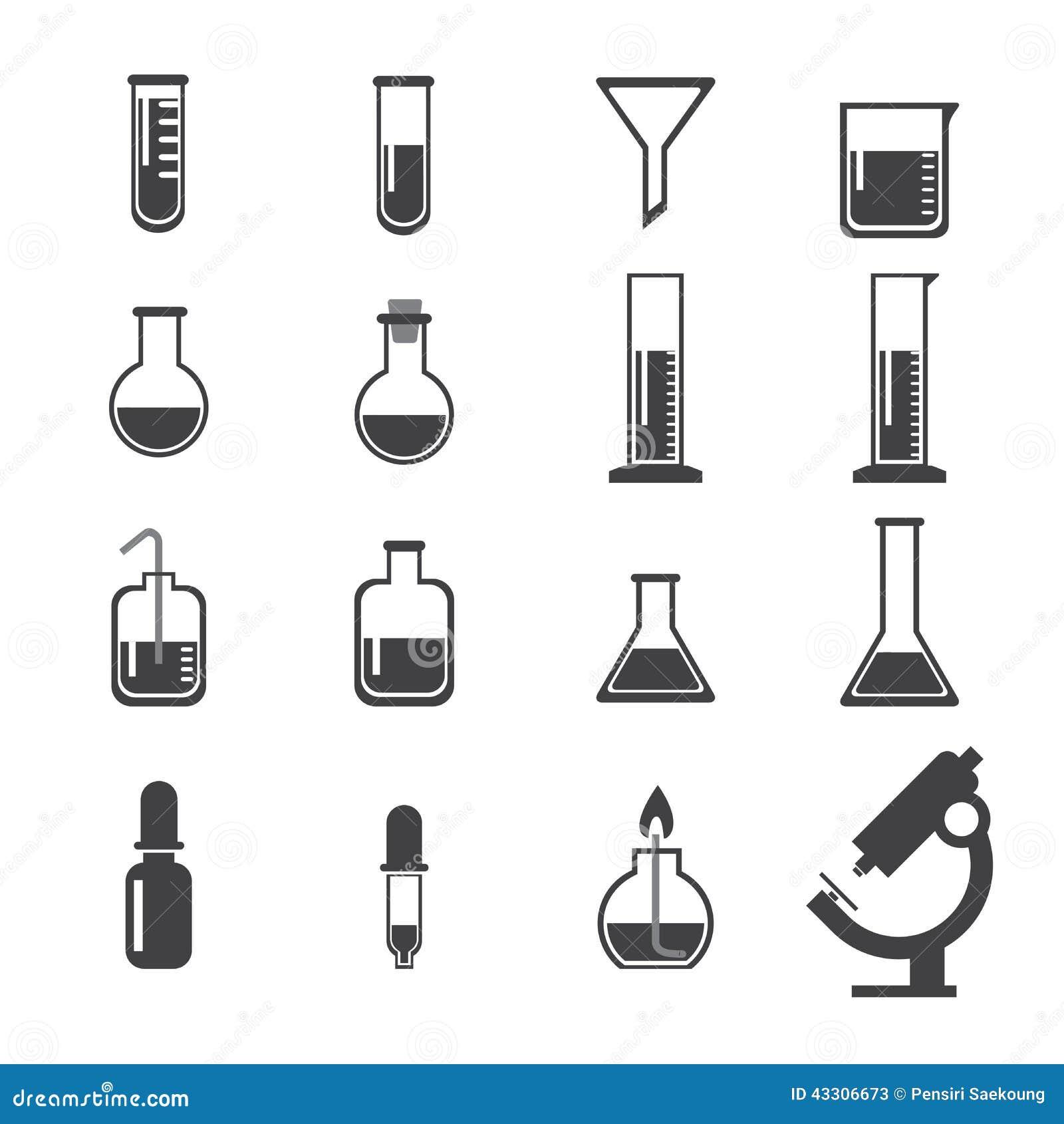 Set of laboratory equipment icon stock vector illustration 43306673 set of laboratory equipment icon buycottarizona